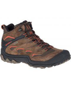 Merrell Men's Chameleon 7 Limit Mid Waterproof Walking Shoes - Stone