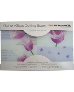 Prima Glass Cutting Board (30 x 20cm)