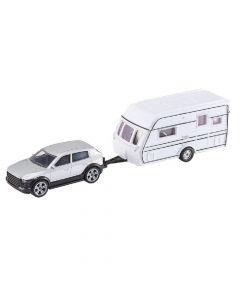 Car And Caravan Die Cast Toy