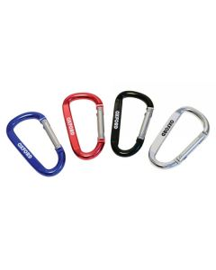 Oxford 7mm x 80mm Carabiner Clip (Assorted Colours)
