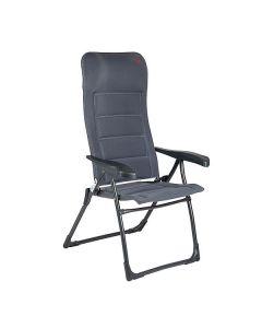 Crespo Air-Deluxe Adjustable Camping Mesh Chair - Grey
