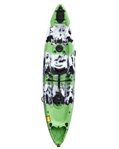 Riber Family Sit On Top Kayak - Green/White