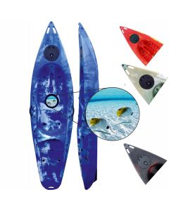 Riber Deluxe Sit On Top Kayak With Porthole