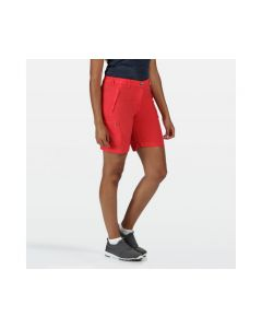 Regatta Chaska II Women's Walking Shorts - Red Sky