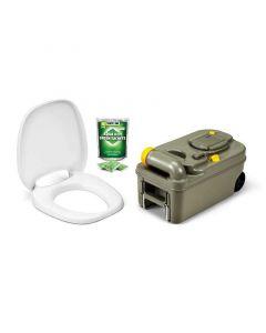 Thetford C200 Cassette Toilet Fresh-up Set - With Wheels