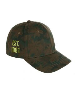 Regatta Kids' Cuyler Baseball Cap II - Grape Leaf Camo