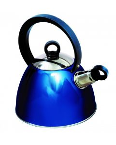 SunnCamp 2 Litre Nouveau Stainless Steel Whistling Kettle