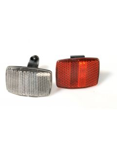 Tiger Cycle Reflector Set Front & Rear