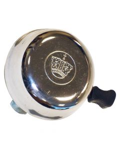 Chrome 'Crown' Bicycle Bell - Ringer Type
