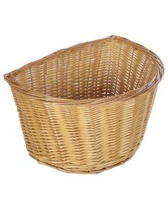 "Oxford Wicker Cycle Basket - 16"""