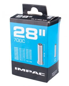 Impac Inner Tube 700 x 28-45C - Schrader Valve