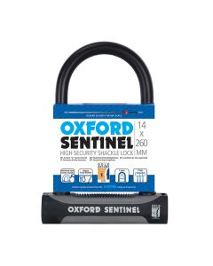 Oxford Sentinel 14 260mm Shackle Cycle Lock - Sold Secure