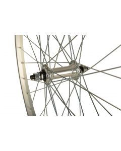 26 x 1.75 Alloy MTB Wheel - Front (Solid Nutted Spindle)