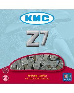 """KMC Z7 6/7-Speed Cycle Chain - 1/2"""" x 3/32"""" x 116"""