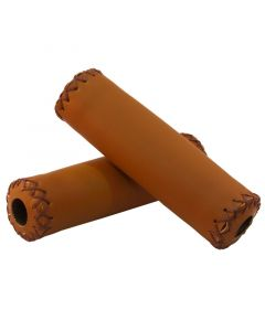 Tiger Leather-Look Handlebar Grips