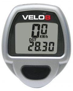 Velo 8 Function Cycle Speedometer Mileometer Computer