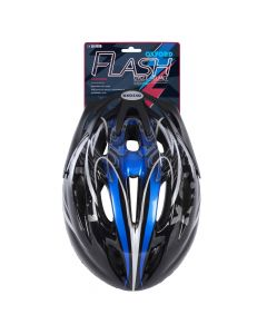 Oxford Flash Black/Blue Junior Cycle Helmet