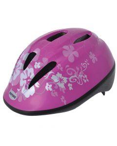 Oxford Little Explorer Flowers - Pink Junior Cycle Helmet