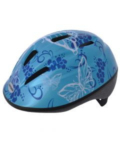 Oxford Little Explorer Butterfly - Blue Junior Cycle Helmet