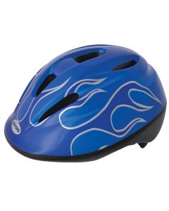 Oxford Little Explorer Blue Flame Kids Cycle Helmet