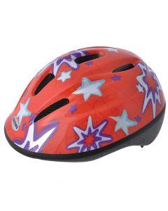 Oxford Little Explorer Stars Kids Cycle Helmet - Red