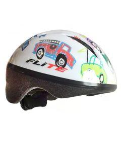 Flite Lil' Bub Child's Cycle Helmet - Cars (48-52cm)
