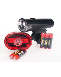 Lumen8 LED Cycle Lights Set - Front & Rear