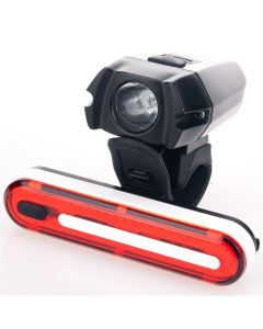 Lumen8 USB Rechargeable Front & Rear Light Set
