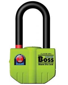 Oxford Boss 14mm Ultra Strong Disc Alarm Lock