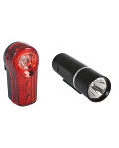 Raleigh RX 1.0 Front & Rear Light Set
