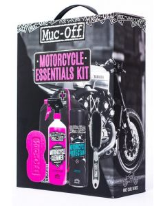 Muc-Off Motorcycle Care Essentials Cleaning Kit