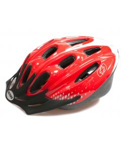 Oxford F15 Hurricane Cycle Helmet - Red