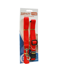 Adjustable Dog Lead and Collar Set