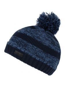 Regatta Men's Davion II Fleece Lined Bobble Hat - Navy