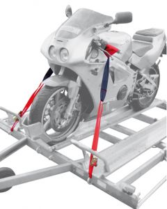 Maypole Motorcycle Trailer Tie Down Strap System