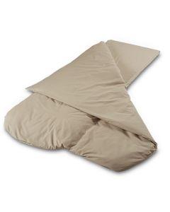 Duvalay Memory Foam Sleeping Bag 2.5cm - Cappucino