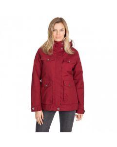 Trespass Devoted Women's Fleece Lined Waterproof Jacket - Merlot