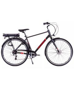 Raleigh Array Crossbar Electric Bike - Black