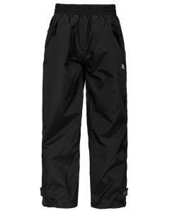 Trespass Echo Kids Waterproof Trousers - Black