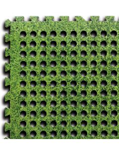 Easy Lock Flooring Tiles - Grass Effect