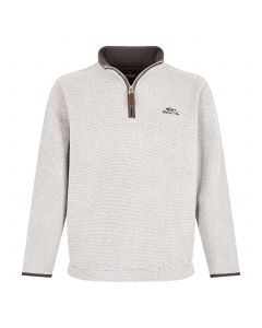 Weird Fish Errill Mens Sweatshirt - Light Grey