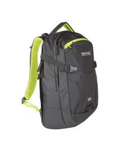 Regatta Paladen 25L Laptop Backpack - Ebony Neon Spring