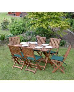Concord Folding Garden Furniture Set