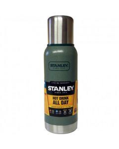 Stanley Adventure Vacuum Flask - 1 Litre Green