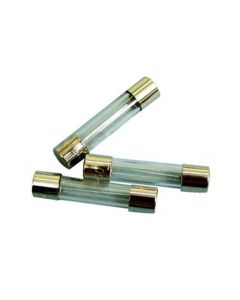 3 Amp Fuses 32 x 6.35mm - Pack of 3