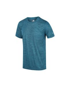 Regatta Fingal V Men's Graphic Active T-Shirt - Olympic Teal Marl