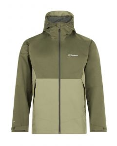 Berghaus Fellmaster Interactive Waterproof Jacket - Dusky Green