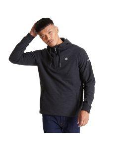 Regatta Men's Forgo Half Zip Hooded Fleece Ebony Grey