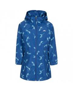 Trespass Frejja Kid's Printed Waterproof Jacket - Blue Moon Print