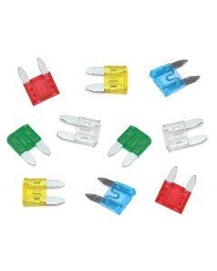 Mini Blade Fuse Pack - 10 Piece